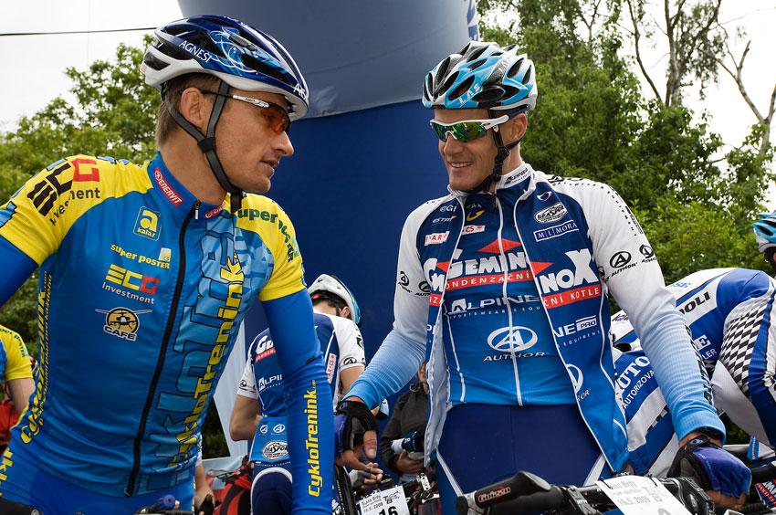 KP� Trans Brdy 2009 - Jan Hru�ka a V�clav Je�ek