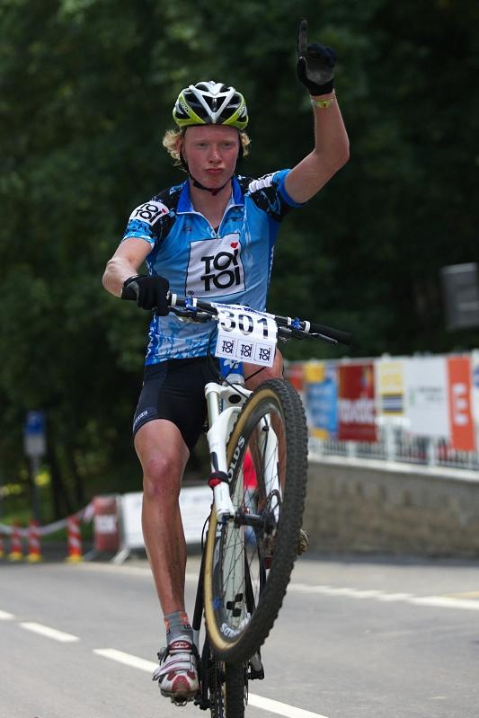 4. závod českého poháru Rockmachine XC Cupu, Teplice 20.6. 2009 - Jan Nesvadba