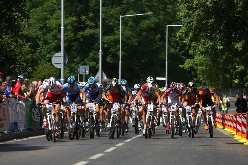 4. závod českého poháru Rockmachine XC Cupu, Teplice 20.6. 2009 - muži v pohybu