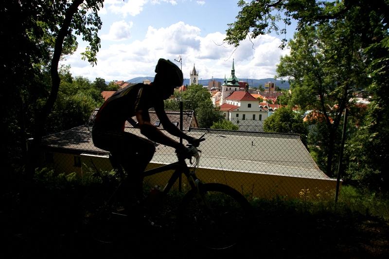 4. závod českého poháru Rockmachine XC Cupu, Teplice 20.6. 2009 - kdby tak byl čas na ty výhledy...