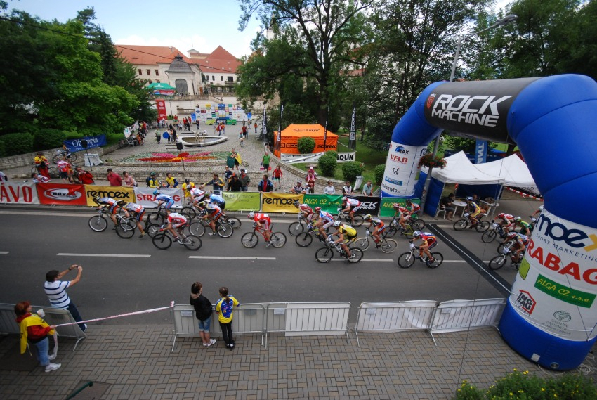 �P MTB XC #4 2009 - Teplice: start junior�