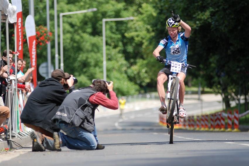 ČP MTB XC #4 2009 - Teplice: Jan Nesvadba vítězí
