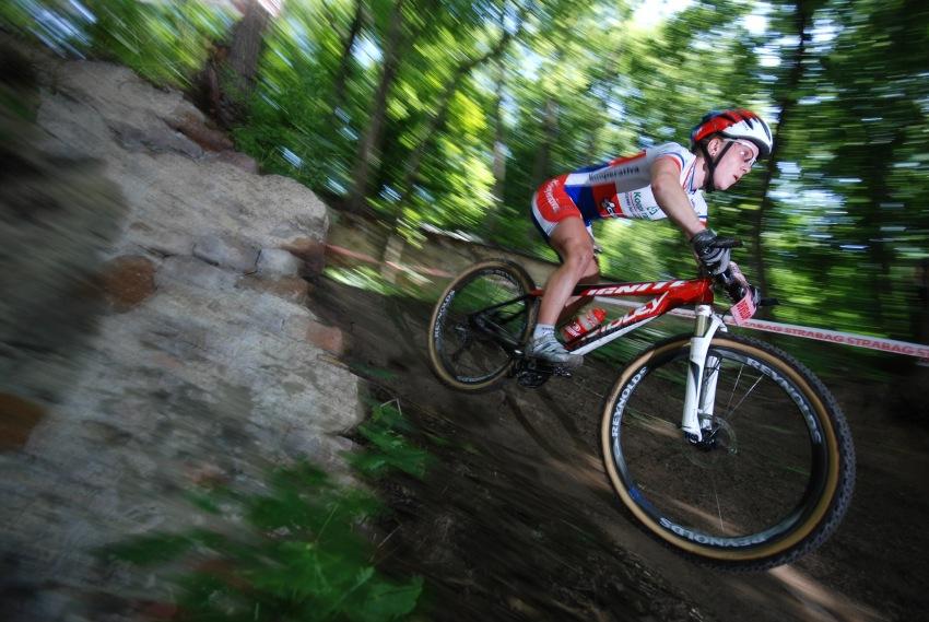 ČP MTB XC #4 2009 - Teplice: Pavla Havlíková na novém biku