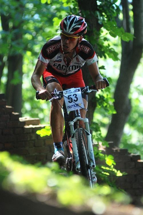 �P MTB XC #4 2009 - Teplice: Tom� Vokrouhl�k