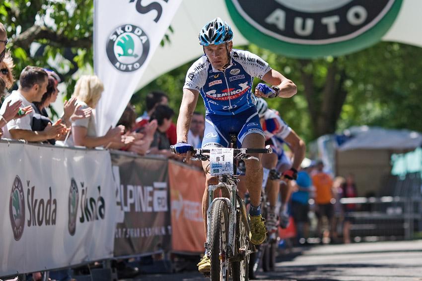 KP� Orl�k 2009 - Venca Je�ek vyhr�v� spurt o 2. m�sto
