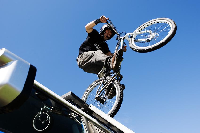 KP� Orl�k 2009 - Pepa Dressler soust�ed�nej na kole...