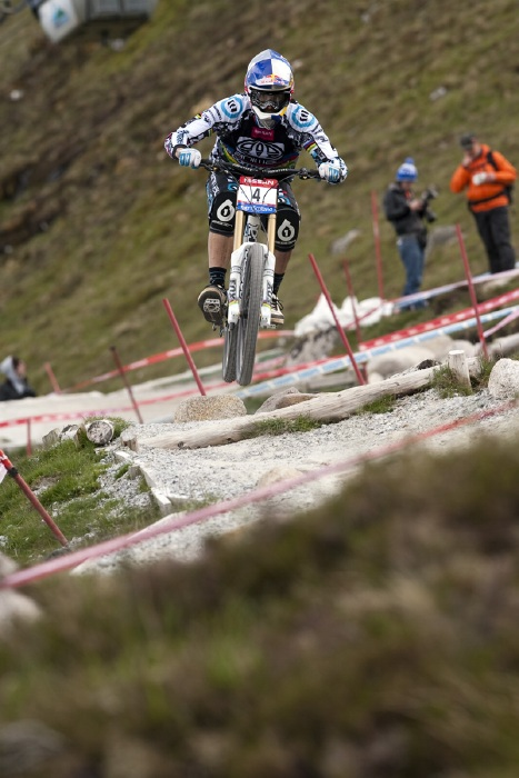 Nissan UCI World Cup DH & 4X #4 - Fort William /GBR/ 2009: Gee Atherton (photo: Gary Perkin)