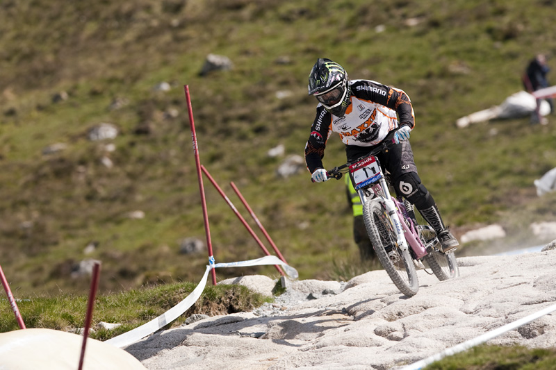 Nissan UCI World Cup DH & 4X #4 - Fort William /GBR/ 2009: Sabrina Jonnier (photo: Gary Perkin)