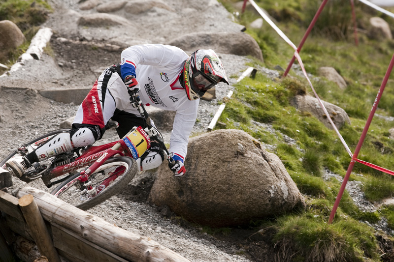 Nissan UCI World Cup DH & 4X #4 - Fort William /GBR/ 2009: Steve Peat (photo: Gary Perkin)
