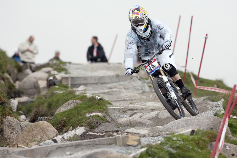 Nissan UCI World Cup DH & 4X #4 - Fort William /GBR/ 2009: Tracy Moseley (photo: Gary Perkin)