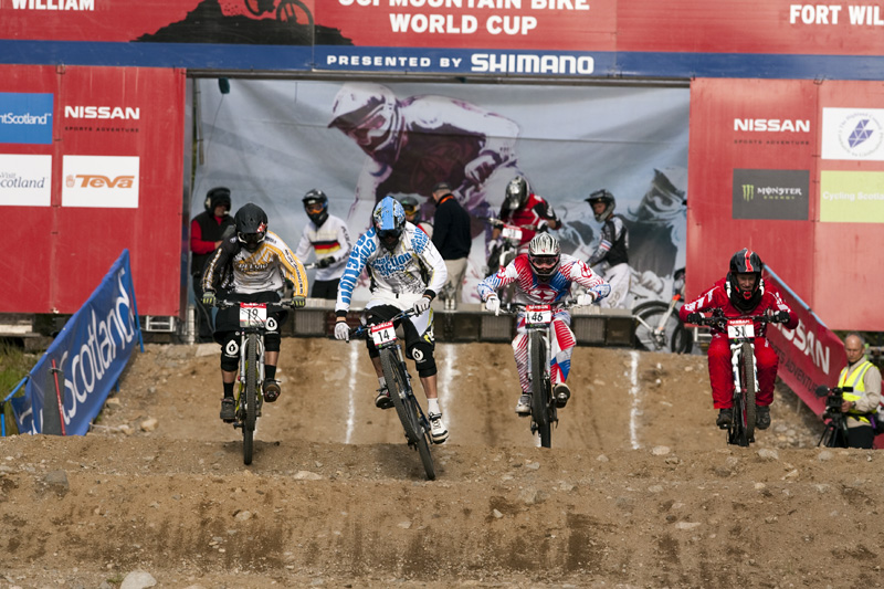 Nissan UCI World Cup DH & 4X #4 - Fort William /GBR/ 2009: Lukas Měchura (photo: Gary Perkin)