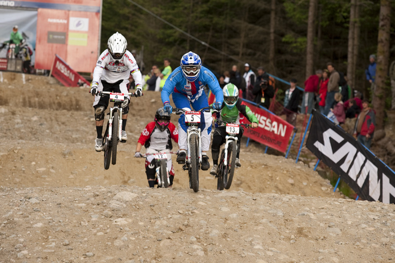 Nissan UCI World Cup DH & 4X #4 - Fort William /GBR/ 2009: Jana Hor�kov� (photo: Gary Perkin)