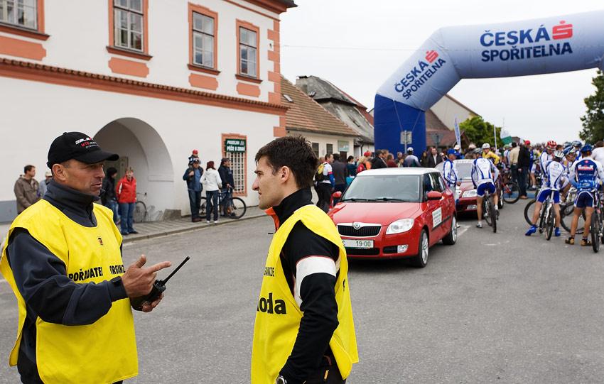 KPŽ 2009 Jistebnický kancionál - hlavní pořadatel Pavel Rybařík (vlevo)