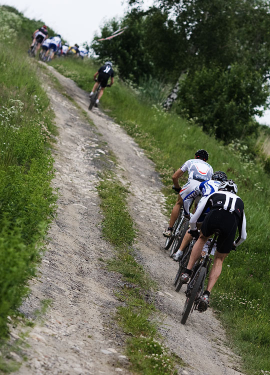 KPŽ 2009 Jistebnický kancionál - čelo závodu bylo záhy roztrháno