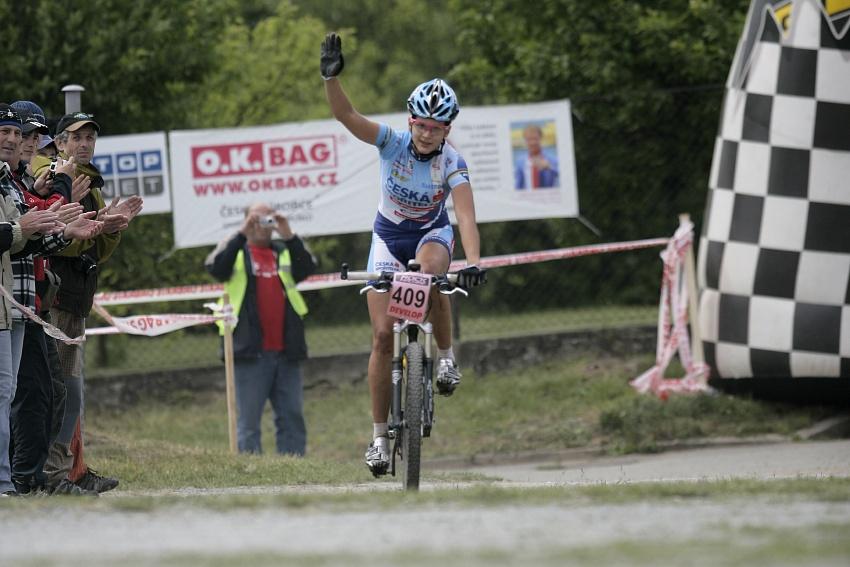 ČP MTB XC #3 2009 - Okrouhlá: Tereza Huříková vítězí