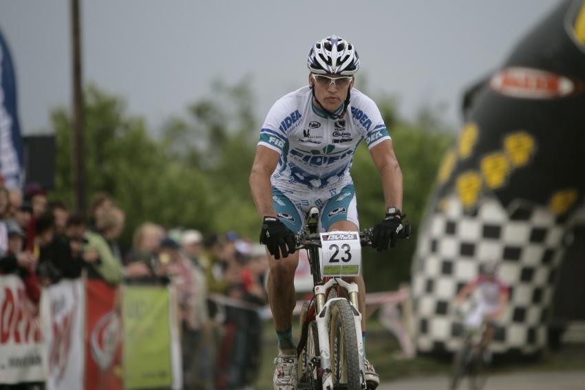 ČP MTB XC #3 2009 - Okrouhlá: Zdeněk Štybar druhý