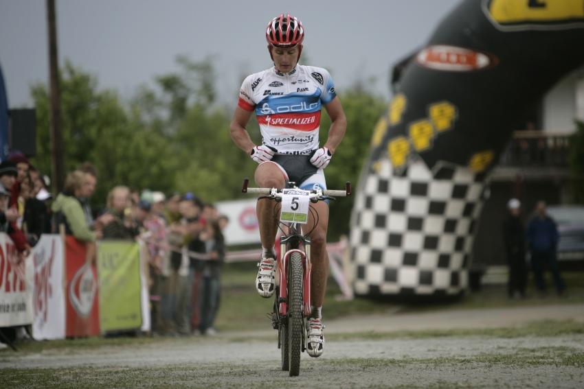 �P MTB XC #3 2009 - Okrouhl�: Pavel Boudn� t�et�