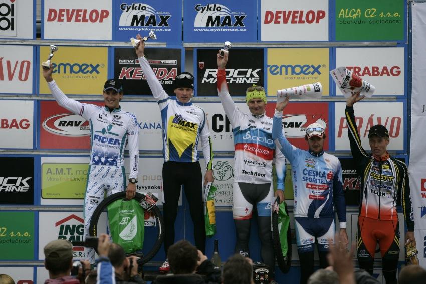 ČP MTB XC #3 2009 - Okrouhlá: Elite - 1. Friedl, 2. Štybar, 3. Boudný, 4. Trunschka, 5. Eberl