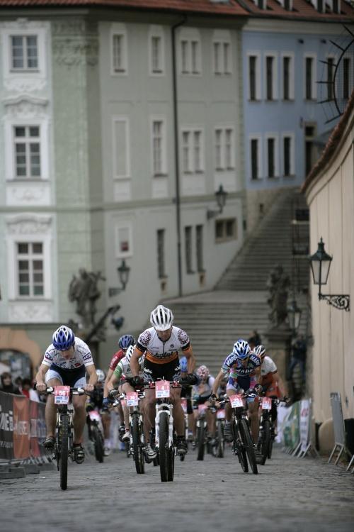 Pražské schody ČS 2009: VIP závod