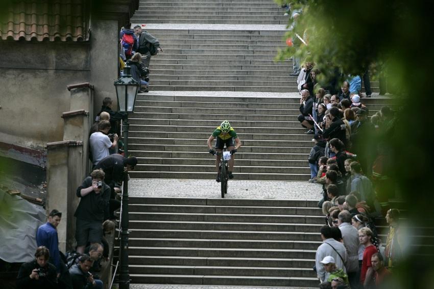 Pra�sk� schody �S 2009: M�rio Nebes��