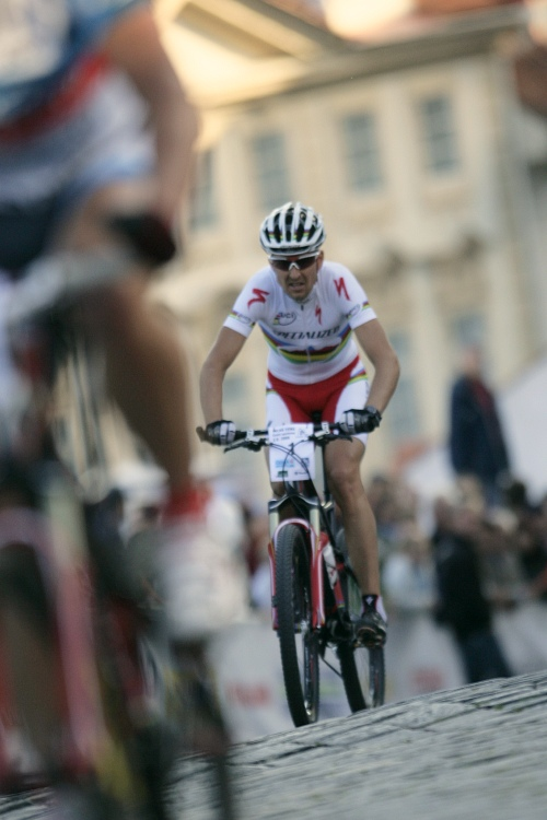 Pražské schody ČS 2009: Christoph Sauser končí na 6. místě