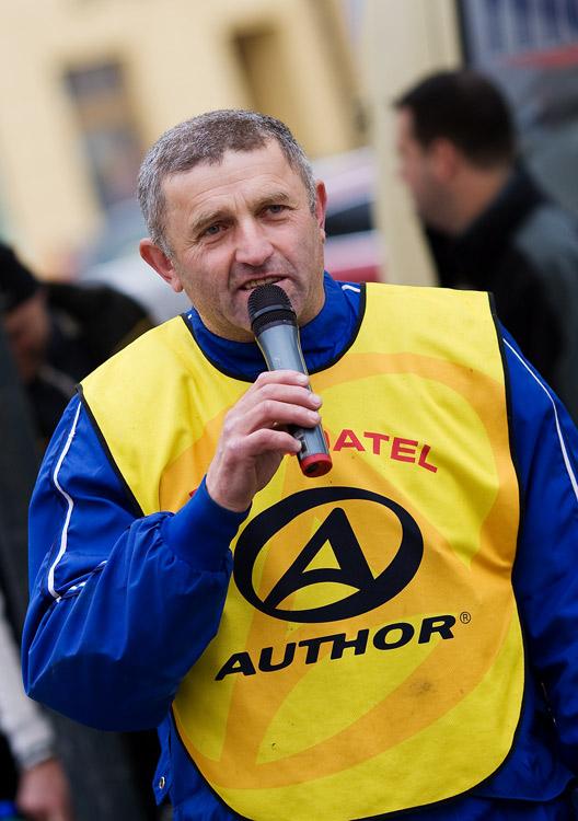 Kr�l �umavy 2009 - Franta �rait a jeho uv�tac� proslov