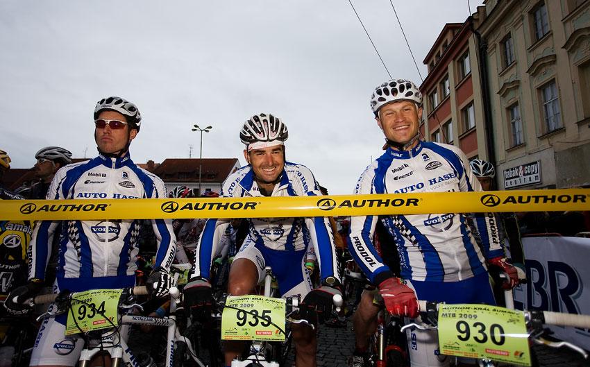 Král Šumavy 2009 - Olda Hakl, Ondra Fojtík a Ivan Rybařík