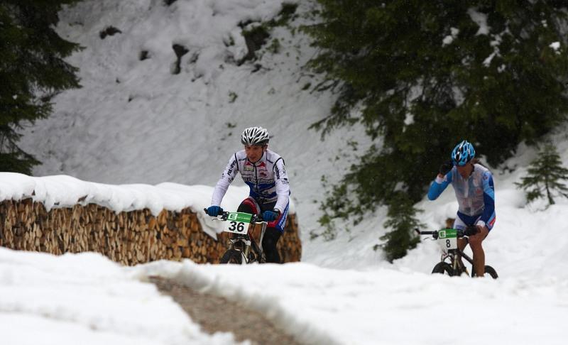 Alpentour Trophy, Schladming /AUT/ - 2. etapa, 30.5. 2009 - Milan Sp�n� s Tony Longem