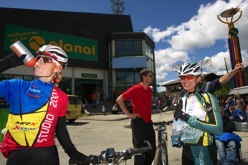 Alpentour Trophy, Schladming /AUT/ - 3. etapa 31.5. 2009 - Barbora Radová a Alena Krnáčová
