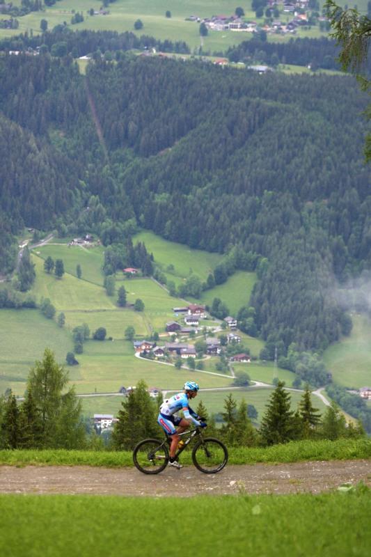 Alpentour Trophy, Schladming /AUT/ - 4. etapa 1.6. 2009 - Josef Kamler nad Schladmingem