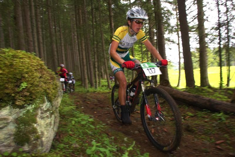Alpentour Trophy, Schladming /AUT/ - 4. etapa 1.6. 2009 - Rowena Fry