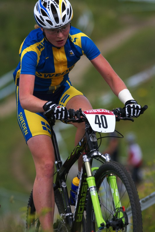 Mistrovství Evropy MTB XC 2009 - Zoetermeer /NED/ - U23: Alexandra Engen