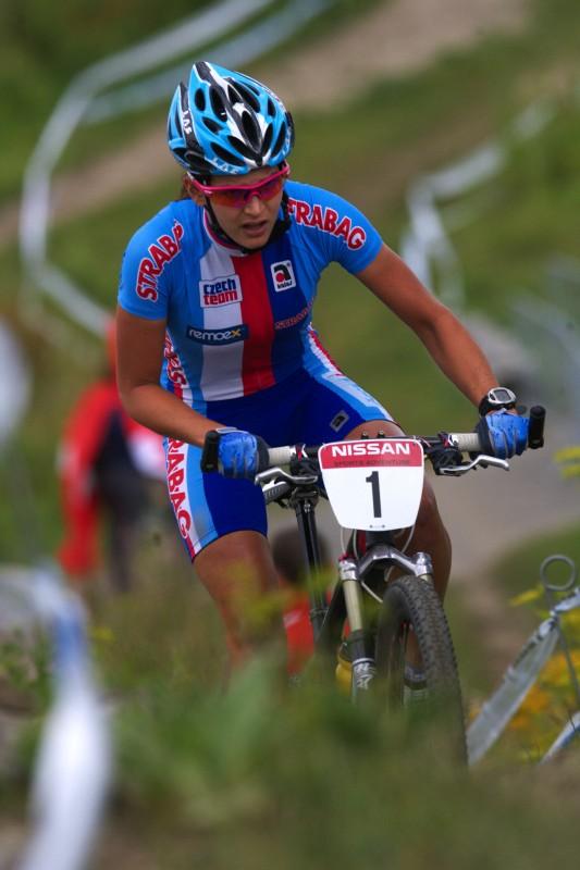 Mistrovství Evropy MTB XC 2009 - Zoetermeer /NED/ - U23: Tereza Huříková
