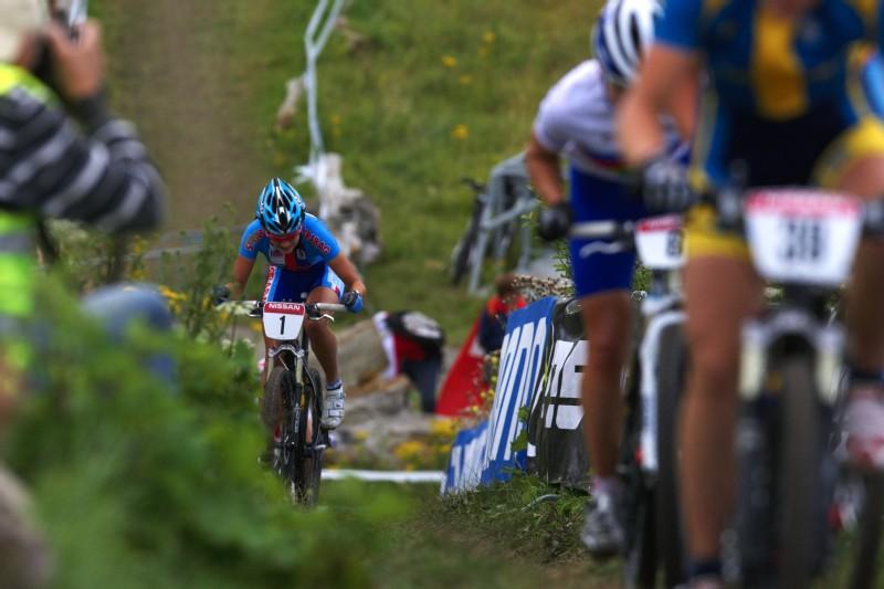 Mistrovstv� Evropy MTB XC 2009 - Zoetermeer /NED/ - U23: Tereza Hu��kov�