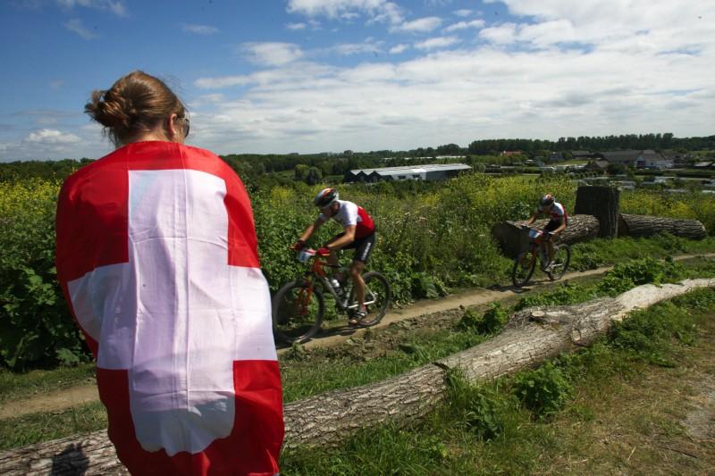 Mistrovství Evropy MTB XC 2009 - Zoetermeer /NED/ - U23: Švýcaři měli v sobotu žně