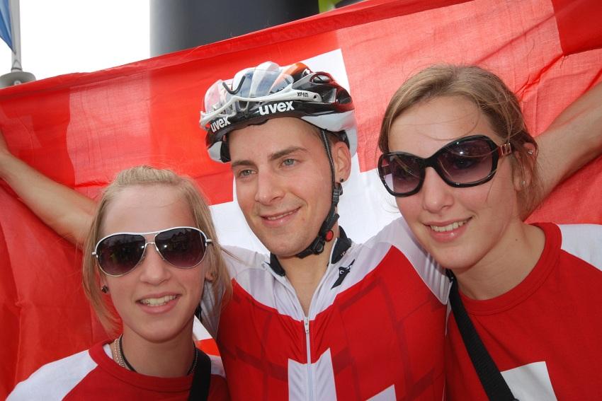 Mistrovstv� Evropy XC 2009 - Zoetermeer /NED/ - mu�i a �eny U23: zlat� Fabian Giger