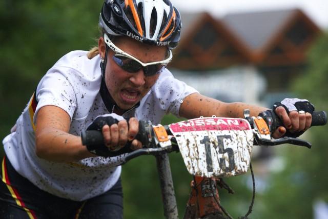 Mistrovství Evropy MTB XC 2009 - Zoetermeer /NED/ - juniorky & junioři: favoritka Mona Eiberweiser na medaili nedosáhla
