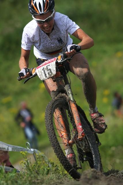 Mistrovství Evropy MTB XC 2009 - Zoetermeer /NED/ - juniorky & junioři: Mona Eiberweiser