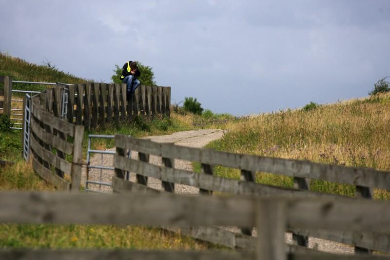 Mistrovstv� Evropy MTB XC 2009 - Zoetermeer /NED/ - juniorky & junio�i: Michal �erven� lovil nejlep�� z�b�ry, pravdou je, �e na skl�dce to �lo jen t�ko...