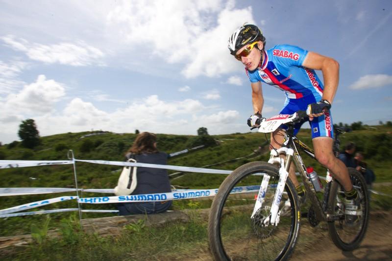 Mistrovství Evropy MTB XC 2009 - Zoetermeer /NED/ - juniorky & junioři: Tomáš Paprstka