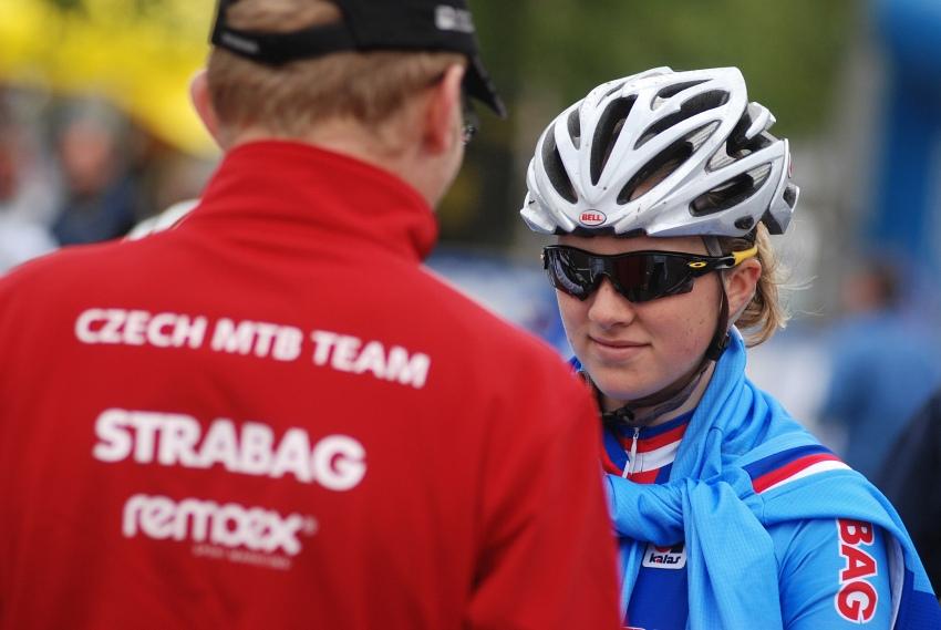 Mistrovství Evropy MTB XC 2009 - Zoetermeer /NED/ - juniorky & junioři: Dáša Labáková
