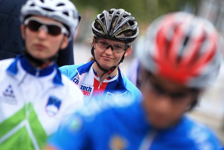 Mistrovství Evropy MTB XC 2009 - Zoetermeer /NED/ - juniorky & junioři: Markéta Sládková