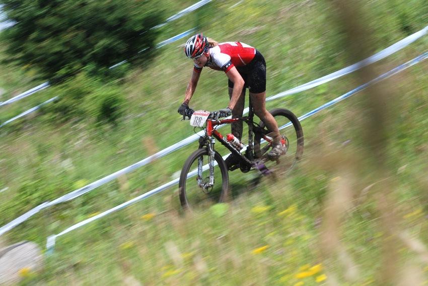 Mistrovství Evropy MTB XC 2009 - Zoetermeer /NED/ - juniorky & junioři: Michelle Hediger