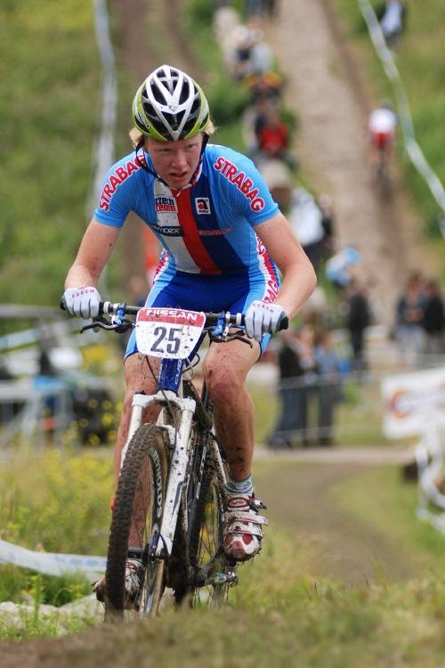 Mistrovství Evropy MTB XC 2009 - Zoetermeer /NED/ - juniorky & junioři: Jan Nesvadba nejlepším českým juniorem