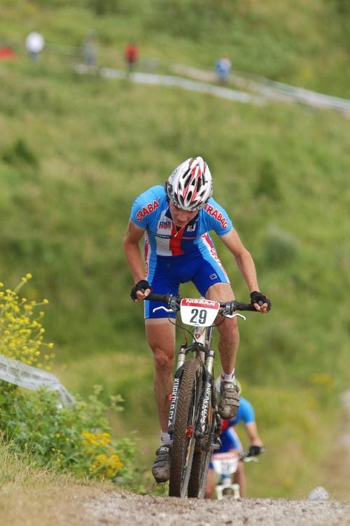 Mistrovství Evropy MTB XC 2009 - Zoetermeer /NED/ - juniorky & junioři: Pavel Skalický