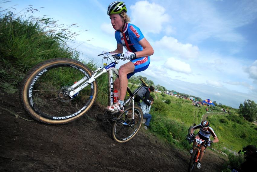 Mistrovství Evropy MTB XC 2009 - Zoetermeer /NED/ - juniorky & junioři: Jan Nesvadba na sedmém místě