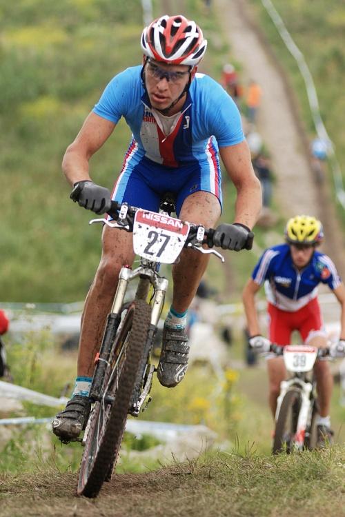 Mistrovství Evropy MTB XC 2009 - Zoetermeer /NED/ - juniorky & junioři: Ondřej Paur