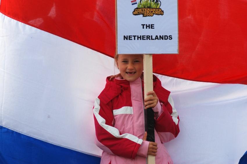 Mistrovstv� Evropy MTB XC 2009 - Zoetermeer /NED/ - t�mov� �tafety: slavnostn� zah�jen�
