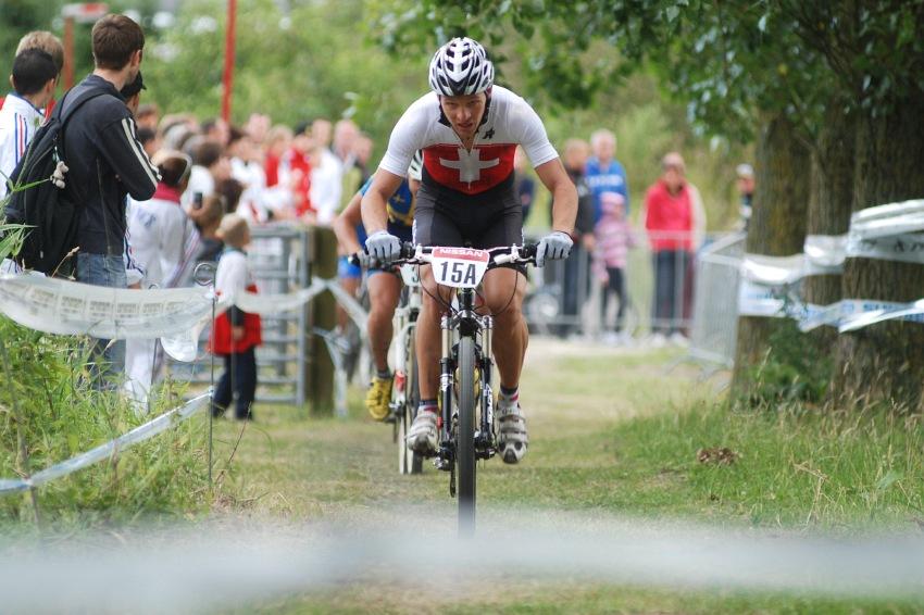 Mistrovství Evropy MTB XC 2009 - Zoetermeer /NED/ - týmové štafety: Ralph Naef