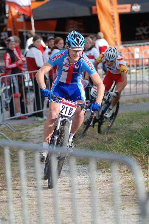 Mistrovství Evropy MTB XC 2009 - Zoetermeer /NED/ - týmové štafety: Josef Kamler